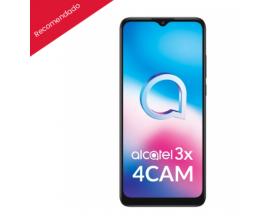 """Alcatel 3X 4CAM 6.52"""" HD+ Octacore 4GB/ 64GB Cámara 16MP+5MP+2MP+2MP/8MP 5000mAh NFC - Color Negro -"""