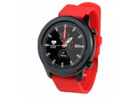 Reloj inteligente innjoo notificaciones bat 230mah sport con correa roja IJ-VOOM SPT ROJO