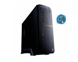 ORDENADOR IGGUAL PC SFF PSIPC341 I3-8100 8GB SSD 240GB SSO NEGRO PSIPC341