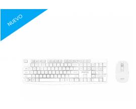 Teclado y ratón approx! MK335 Kit 2.4GHZ Blanco APPMX335W