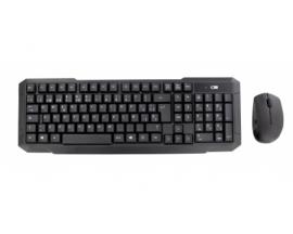 STREAMLINE - Combo WIRELESS USB teclado / mouse 1000dpi - QWERTY - negro-ESPA�OL