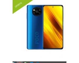 Smartphone XIAOMI POCO X3 NFC 6GB/128GB Azul MZB07TEEU