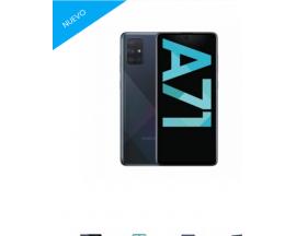 Smartphone Samsung Galaxy A71 6/128GB - Negro -
