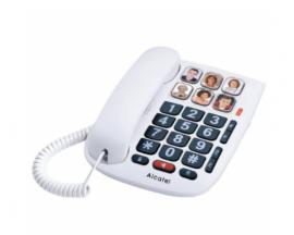 TELEFONO ALCATEL CON CABLE TMAX10 BLANCO ATL1416459