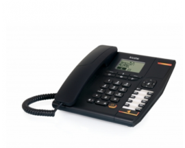 TELEFONO ALCATEL TEMPORIS 880 CON CONEXION POR CABLE NEGRO ATL1417258