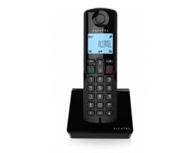 Telefono inalambrico alcatel dect S250 Identificador de llamadas negro ATLEW1415520