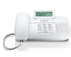 TELEFONO FIJO DA710 SIEMENS GIGASET BLANCO S30350-S213-R102