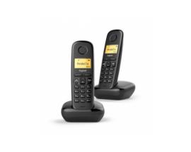 TELEFONO GIAGSET INALAMBRICO A270 DUO NEGRO L36852-H2812-D201