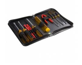 StarTech.com Juego Kit Set Herramientas Reparación Ordenadores 11 piezas Estuche- Torx Phillips Plano