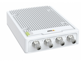 Codificador de video axis m7104 4 canales 720 x 576 pixeles 30 pps blanco 01679-001
