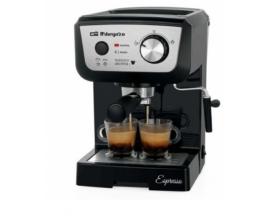 CAFETERA ORBEGOZO ESPRESSO EX 5000 1050W 20 BAR DEPOSITO DE AGUA 1.3L EXTRAIBLE PERMITE CAFE MOLIDO MONODOSIS VAPORIZADOR 17534