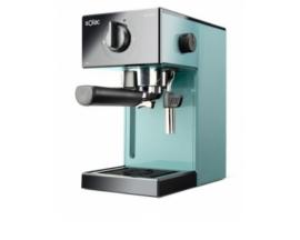Cafetera espresso solac squissita easy 1050w 20 bar deposito extraible 1.5l portafiltros cafe molido monodosis azul S92011800
