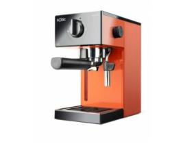 Cafetera espresso solac squissita easy 1050w 20 bar deposito extraible 1.5l portafiltros cafe molido monodosis naranja S92011700