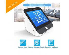 Medidor Co2 InnJoo - Detector de CO2 - Analizador de calidad del aire portátil Temperatura humedad Monitor Multifuncional