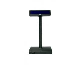 VISOR VFD POSIFLEX PD-2600 NEGRO 2X20 RS232