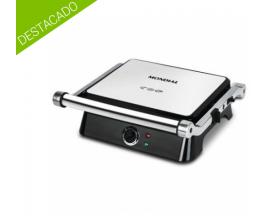 Mondial table electrico grill sandwichera 1400w acero inoxidable