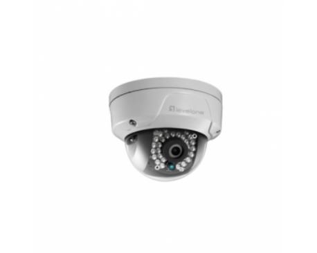 LevelOne FCS-3087 CAMARA IP DOMO NO WIFI 5 MEGAPIXEL POE EXTERIOR ANTIVANLICA IR LEDS