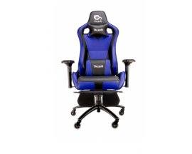 Talius silla Caiman gaming black/blue